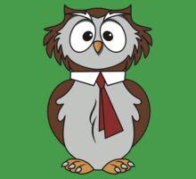 Owl Cartoon Kids Tee