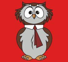 Owl Cartoon One Piece - Long Sleeve