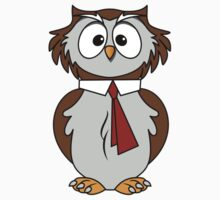 Owl Cartoon Kids Tee