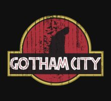 Gotham City meets Jurassic Park (Distressed) by G-Spark