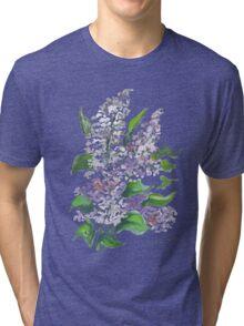Lilac flowers Tri-blend T-Shirt