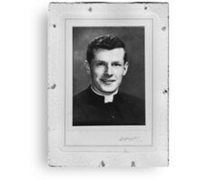 Unknown Priest Canvas Print