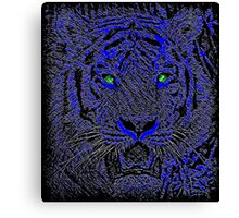 Dark Tiger Canvas Print