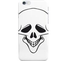 Skull funny iPhone Case/Skin