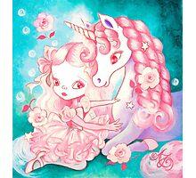 Unicorn Delight Photographic Print