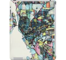 Abstract Map of Buffalo NY iPad Case/Skin