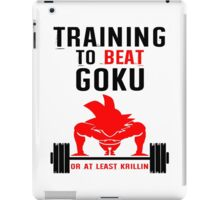 TRAINING GOKU - Baset of Dragon Ball iPad Case/Skin