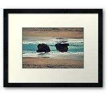 Materialization Of Gesture Framed Print
