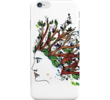 the man who have a tree in his mind iPhone Case/Skin