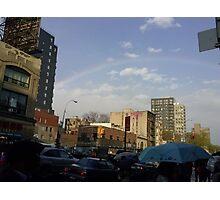 New York Rainbow Photographic Print
