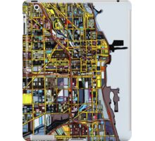 Abstract Map of Chicago IL iPad Case/Skin