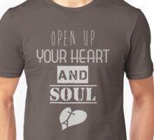 Heart and soul Unisex T-Shirt