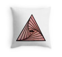 Eye Of Providence Throw Pillow