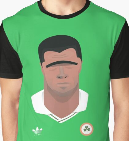 Paul McGrath Graphic T-Shirt