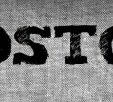 Boston - USA Sticker