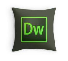 Dreamweaver Icon Throw Pillow