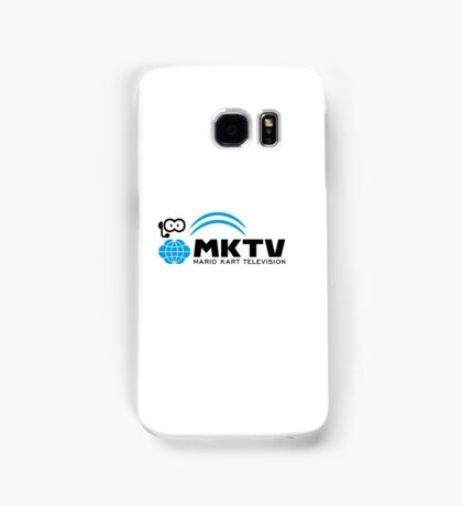 Mario Kart Television (Black) Samsung Galaxy Case/Skin