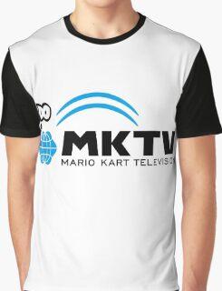 Mario Kart Television (Black) Graphic T-Shirt