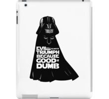 Dark Helmet - Spaceballs iPad Case/Skin