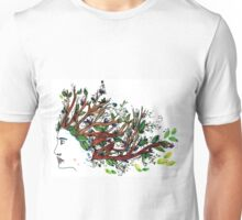 the man who have a tree in his mind Unisex T-Shirt