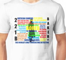 BBC Sherlock Quotes Unisex T-Shirt