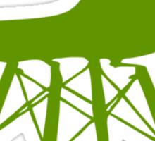 Eames Eiffel Plastic Side Chair Sticker