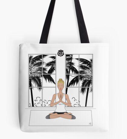 Yoga Girl..... Tote Bag