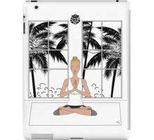 Yoga Girl..... iPad Case/Skin