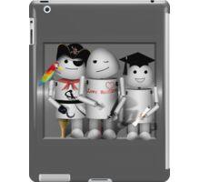 Cute Robot Trio -   Robo-x9  iPad Case/Skin