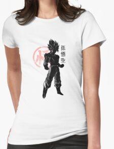 SON GOKU - Baset of Dragon Ball Womens Fitted T-Shirt
