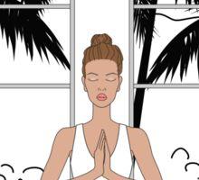 Yoga Girl.... Sticker