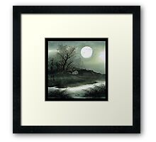 China in your hand Framed Print