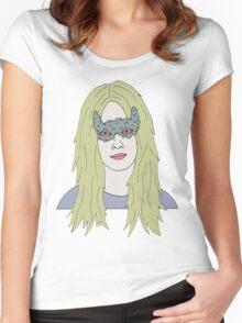 strange girl Women's Fitted Scoop T-Shirt