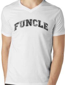 Funcle Mens V-Neck T-Shirt