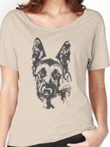 German Shepherd Women's Relaxed Fit T-Shirt