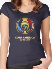 USA COPA AMERICA 2016 Women's Fitted Scoop T-Shirt