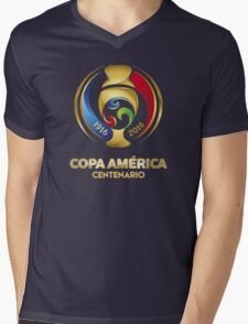 USA COPA AMERICA 2016 Mens V-Neck T-Shirt