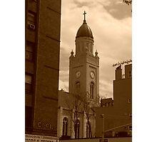 Antique Church Photographic Print