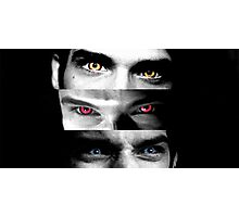 Teen Wolf - Alpha Beta Omega Photographic Print