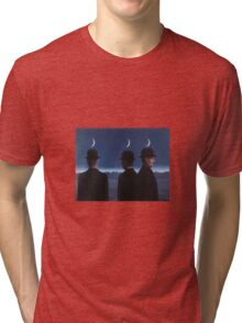 The Mysteries of the Horizon by Magritte  Tri-blend T-Shirt