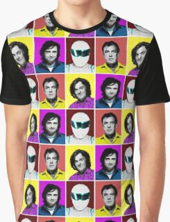 Top Gear Inspired Pop Art, All Personalities in One Graphic T-Shirt