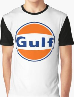 Gulf oil Graphic T-Shirt