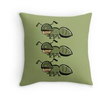 in the army Throw Pillow