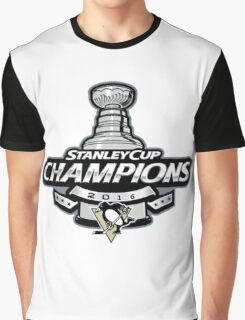 Stanley Cup Champions | Pittsburgh Penguins | 2016 Graphic T-Shirt