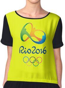 Olympics in Rio 2016 Chiffon Top