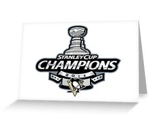 Stanley Cup Champions | Pittsburgh Penguins | 2016 Greeting Card
