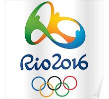 Olympics in Rio 2016 Poster