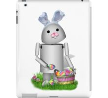 Cute Easter Robot -  Robo-x9  iPad Case/Skin