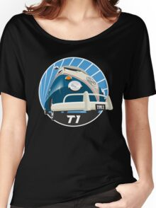 VW Type 2 Transporter T1 blue Women's Relaxed Fit T-Shirt