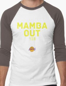 Mamba Out kobe bryant Men's Baseball ¾ T-Shirt